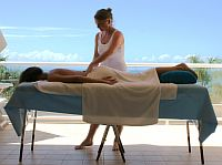 Balcony massage at Netanya